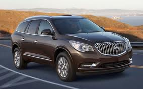 Buick Enclave fuel consumption, liters or gallons / km or miles