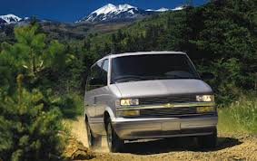 Chevrolet Astro Passenger Van fuel consumption, miles per gallon or litres/ km