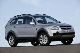 Chevrolet Captiva fuel consumption, miles per gallon or litres/ km