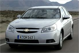 Chevrolet Epica fuel consumption, miles per gallon or litres/ km