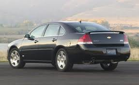 Chevrolet Impala fuel consumption, miles per gallon or litres/ km