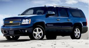 Chevrolet Suburban fuel consumption, miles per gallon or litres/ km