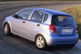 Daewoo Kalos fuel consumption, miles per gallon or litres/ km