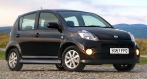 Daihatsu Sirion fuel consumption, miles per gallon or litres/ km