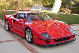 Ferrari F 40 fuel consumption, miles per gallon or litres/ km