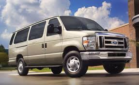 Ford E-150 fuel consumption, miles per gallon or litres/ km