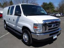 Ford Van E-250 fuel consumption, miles per gallon or litres/ km
