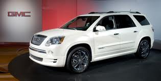 GMC Acadia fuel consumption, miles per gallon or litres/ km