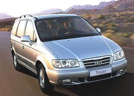 Hyundai Trajet fuel consumption, miles per gallon or litres/ km