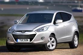 Hyundai Tucson fuel consumption, miles per gallon or litres/ km