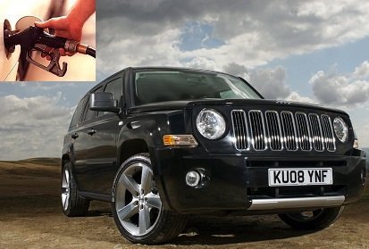Jeep Patriot fuel consumption, miles per gallon or litres - km