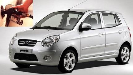 Kia Picanto fuel consumption, miles per gallon or litres - km