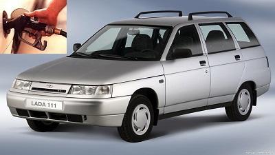 Lada 111 fuel consumption, miles per gallon or litres - km