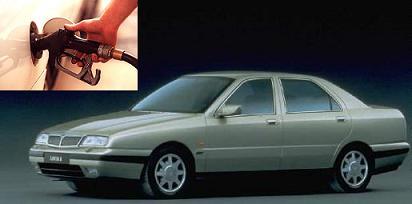 Lancia Kappa fuel consumption, miles per gallon or litres - km