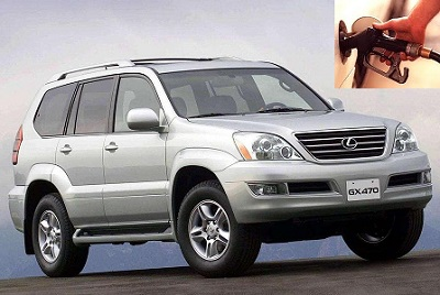 Lexus GX fuel consumption, miles per gallon or litres – km