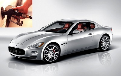 Maserati GranTurismo fuel consumption, miles per gallon or litres – km