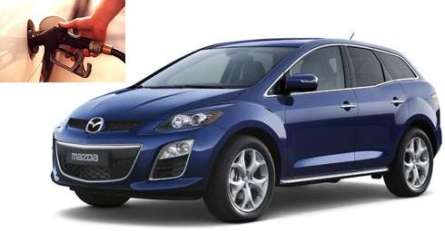 mazda cx 7 fuel consumption miles per gallon or litres. Black Bedroom Furniture Sets. Home Design Ideas
