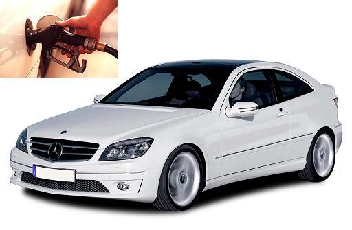 Mercedes Benz CLC 200 K fuel consumption, miles per gallon or litres – km