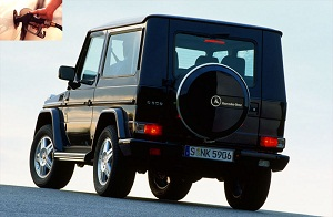 Mercedes Benz G 270 CDI fuel consumption, miles per gallon or litres – km