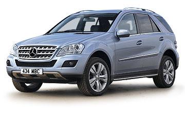 Mercedes Benz ML 280 CDi fuel consumption, miles per gallon or litres – km