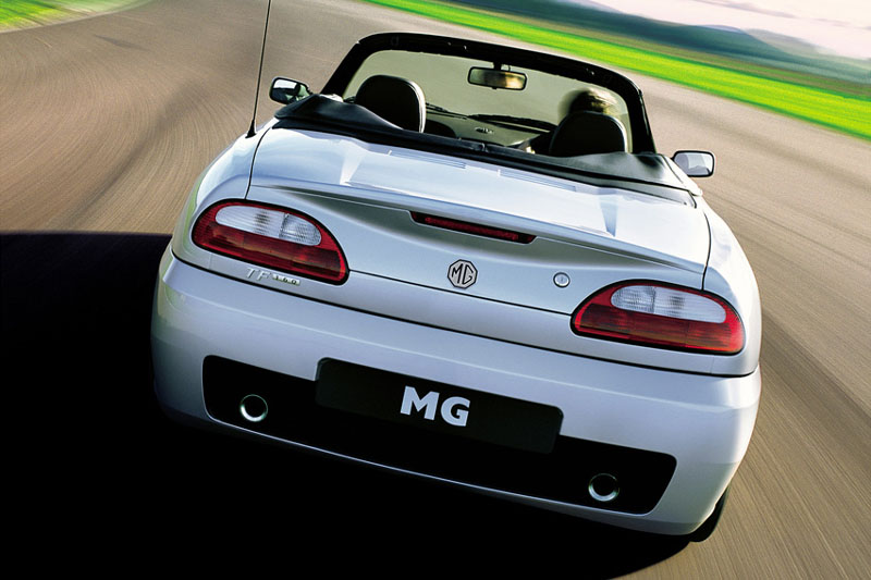 MG TF 115 fuel consumption