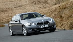 BMW 520 fuel consumption, liters or gallons / km or miles