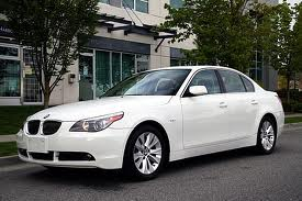 BMW 545i fuel consumption, liters or gallons / km or miles