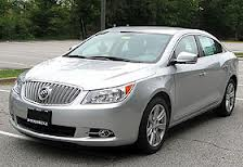 Buick LaCrosse fuel consumption, liters or gallons / km or miles