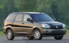 Buick Rendezvous fuel consumption, miles per gallon or litres/ km