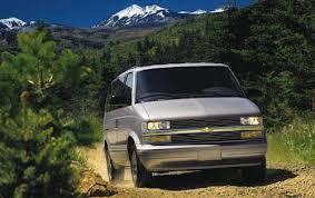 Chevrolet Astro Passenger Van fuel consumption, miles per gallon or litres/ km