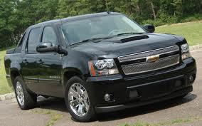 Chevrolet Avalanche fuel consumption, miles per gallon or litres/ km