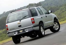 Chevrolet Blazer fuel consumption, miles per gallon or litres/ km