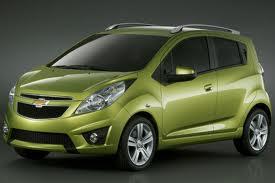 Chevrolet Spark fuel consumption, miles per gallon or litres/ km