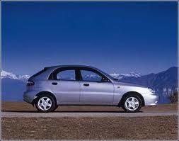Daewoo Lanos fuel consumption, miles per gallon or litres/ km