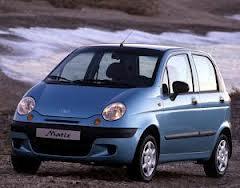 Daewoo Matiz fuel consumption, miles per gallon or litres/ km
