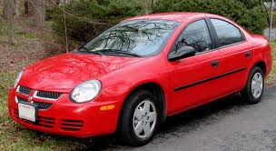 Dodge Neon fuel consumption, miles per gallon or litres/ km