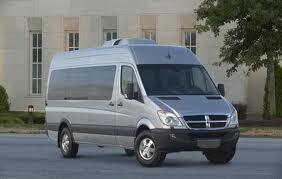 Dodge Sprinter fuel consumption, miles per gallon or litres/ km