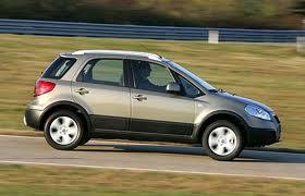 Fiat Sedici fuel consumption, miles per gallon or litres/ km