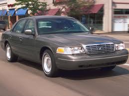 Ford Crown Victoria fuel consumption, miles per gallon or litres/ km