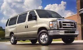 Ford E-150 fuel consumption, miles per gallon or litres/ km