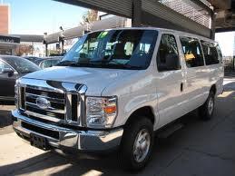 Ford E-350 fuel consumption, miles per gallon or litres/ km