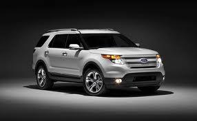 Ford Explorer fuel consumption, miles per gallon or litres/ km