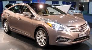 Hyundai Azera fuel consumption, miles per gallon or litres/ km