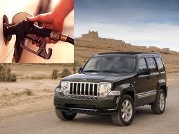 Jeep Cherokee fuel consumption, miles per gallon or litres - km