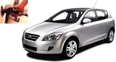Kia Ceed fuel consumption, miles per gallon or litres - km