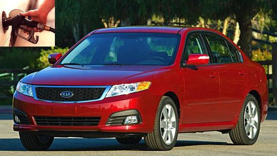 Kia Optima fuel consumption, miles per gallon or litres - km