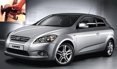 Kia Pro Ceed fuel consumption, miles per gallon or litres - km