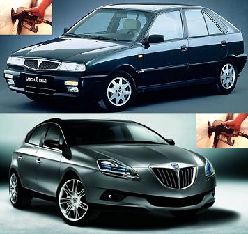 Lancia Delta fuel consumption, miles per gallon or litres - km