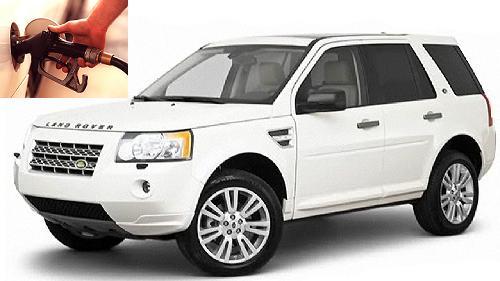 Land Rover LR2 fuel consumption, miles per gallon or litres - km