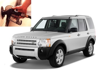 Land Rover LR3 fuel consumption, miles per gallon or litres - km